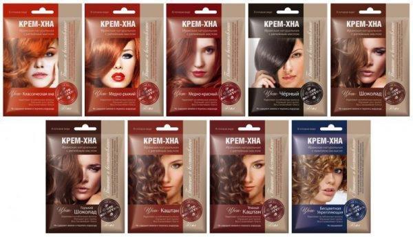 Хной красить волосы вредно ли