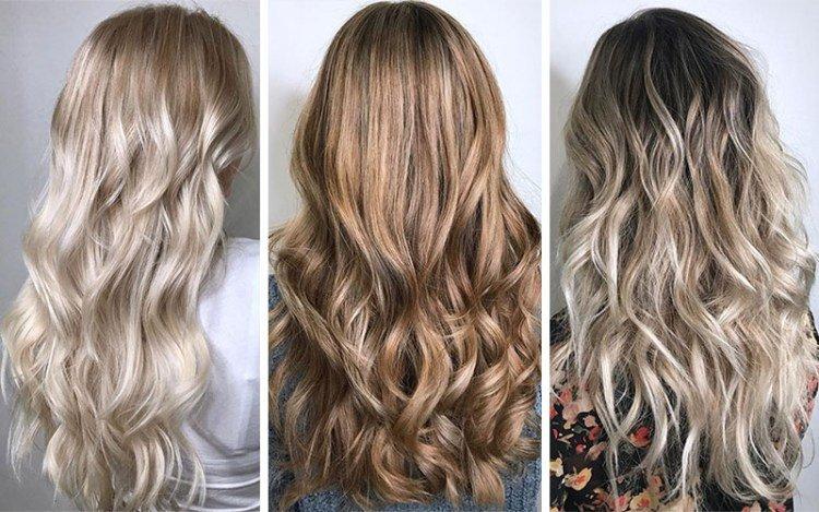 Оттенок волос русый