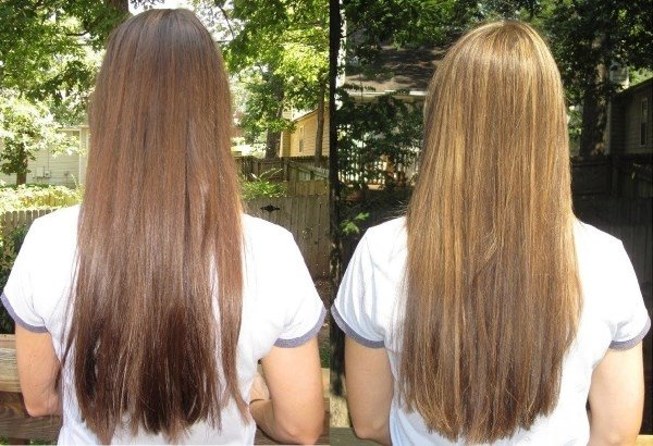 Рецепт осветления волос в домашних условиях