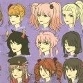 Новая мода - волосы аниме-девушек