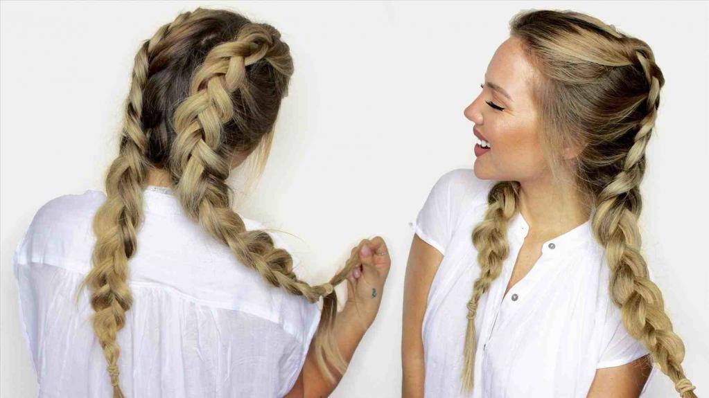 две объемные косы