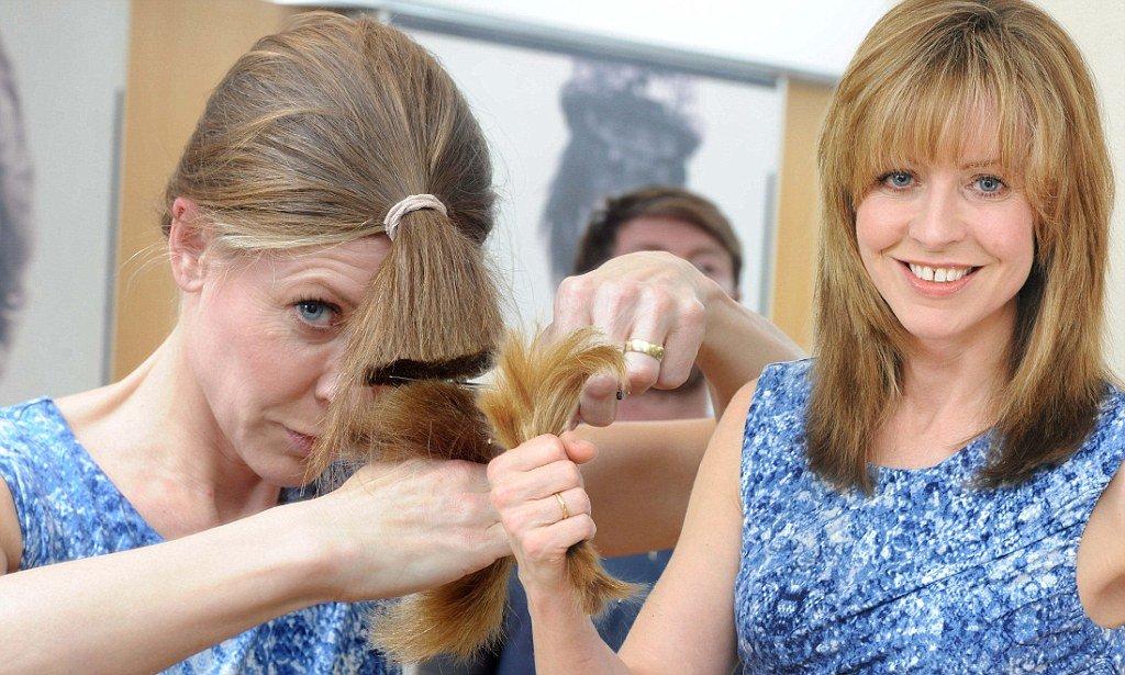 как в домашних условиях подравнять волосы