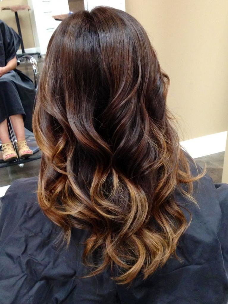 виды окраски волос