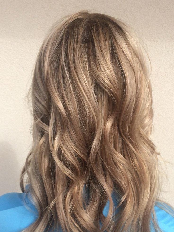 виды окраски коротких волос