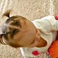 Два хвостика для малышки