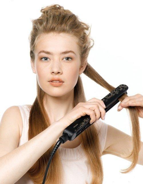 Как выпрямить кудрявые волосы