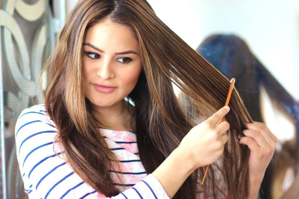 как высушить волосы чтобы они были прямыми