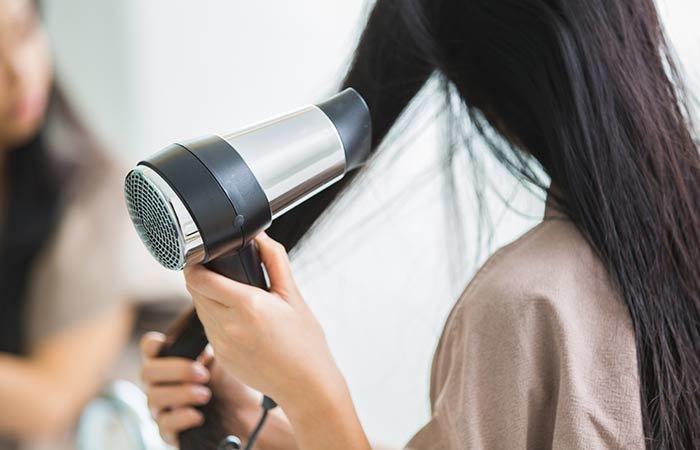 как сушить волосы чтобы они были прямыми
