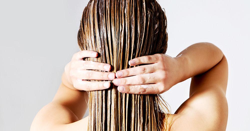 увлажнить сухие волосы средства