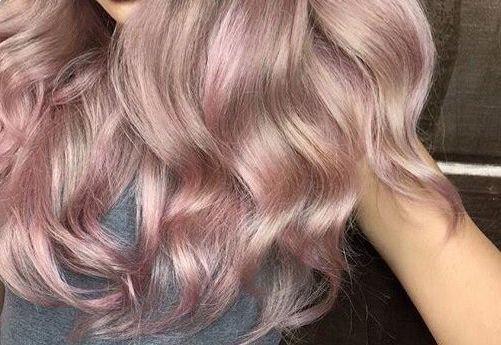 цвет волос перламутровый