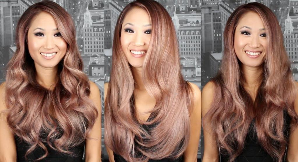 цвет волос жемчужный для брюнеток