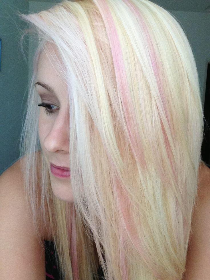 Золотисто-розовый цвет волос: краска