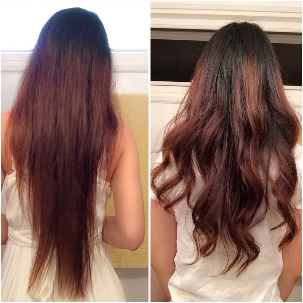 Биозавивка на длинные волосы