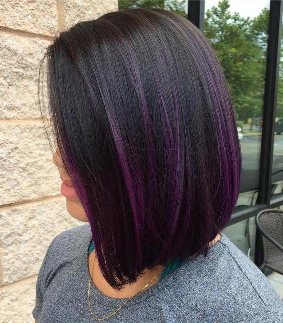 Как покрасить волосы в черный цвет
