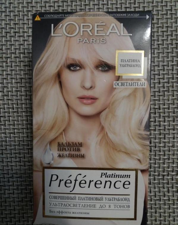 L'Oreal Platinum – осветлитель для волос
