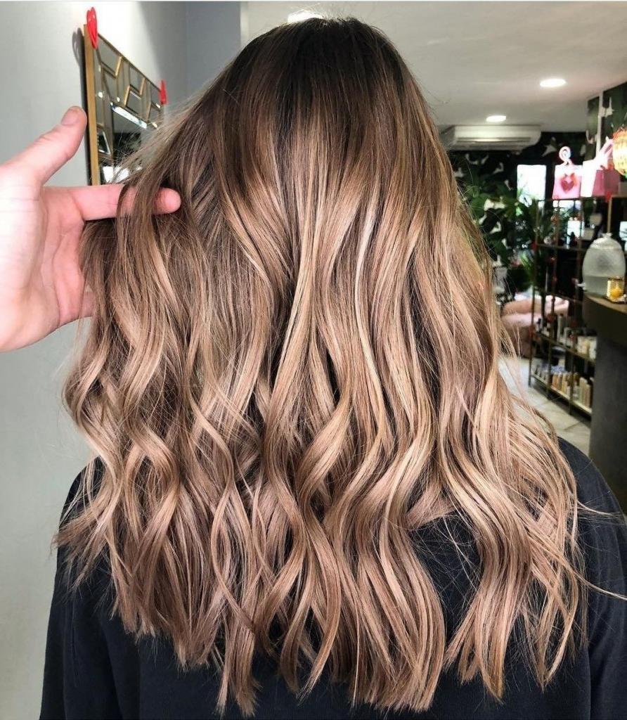 Цвет волос кофе с молоком фото кому идет