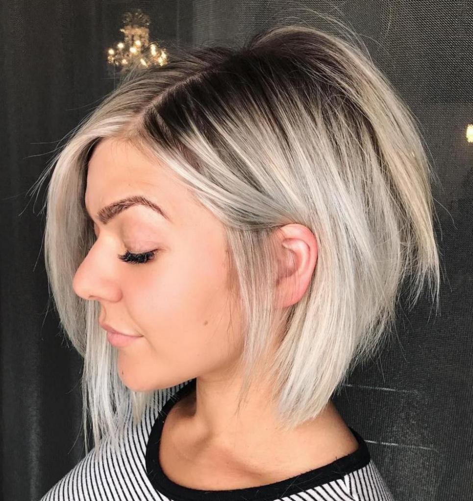 светлые волосы каре