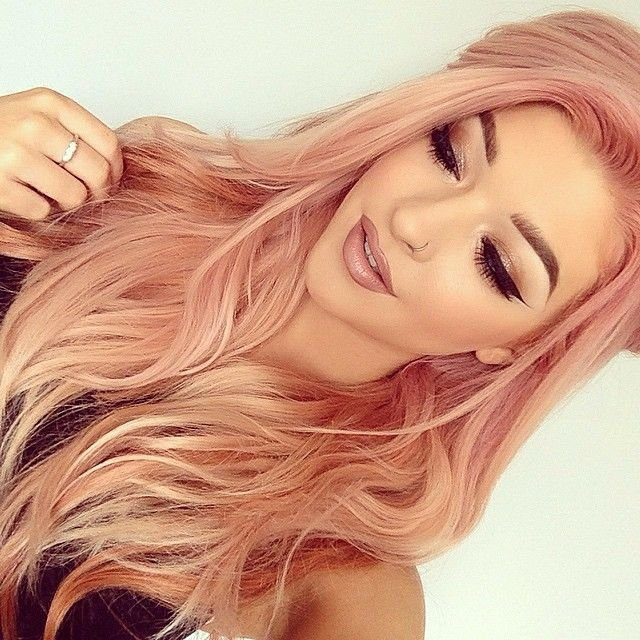 Красивый цвет розового золота