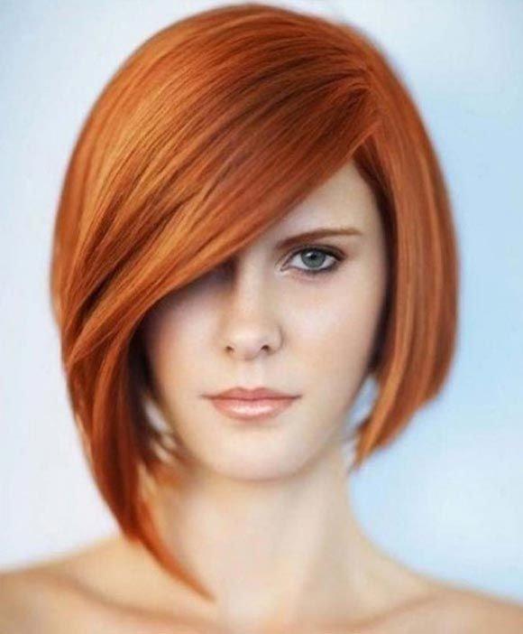 боб на рыжие волосы