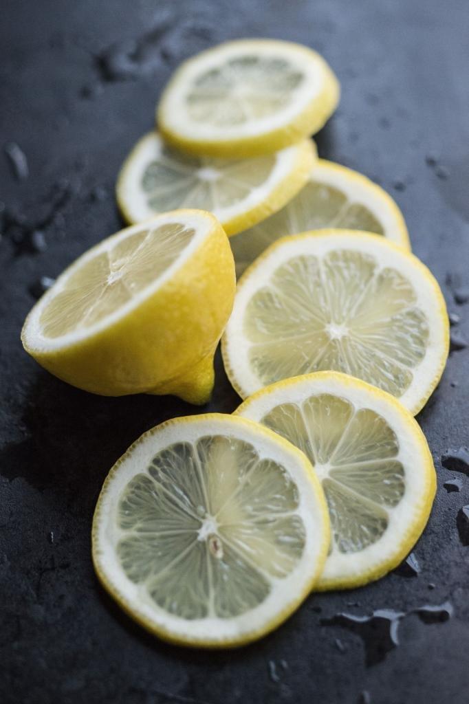 Осветление лимона