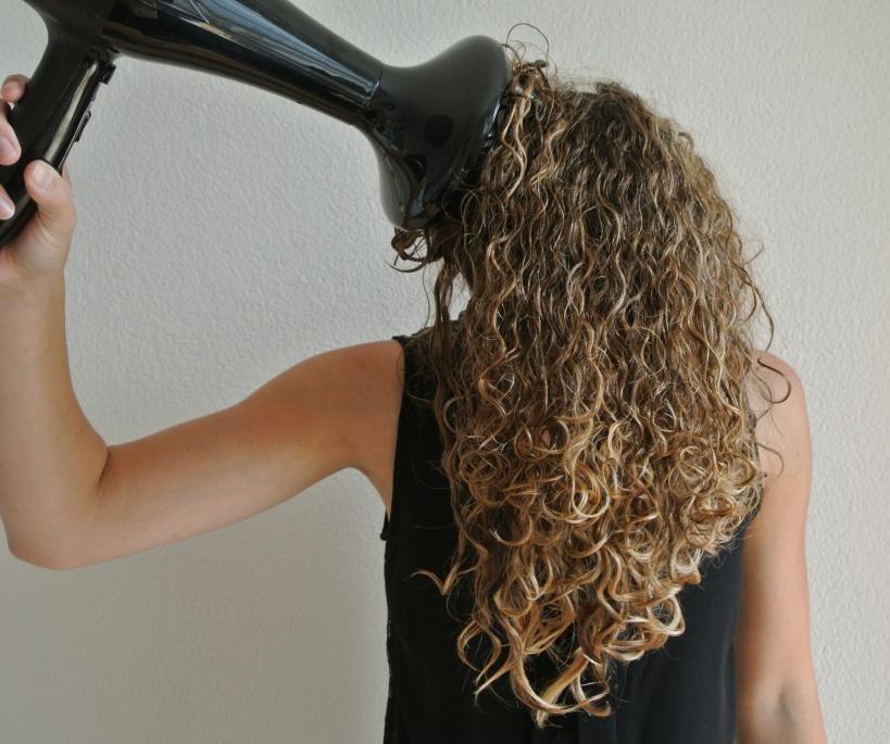 Создание эффекта мокрых волос