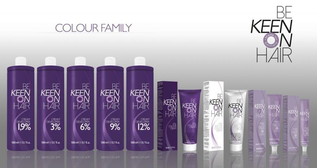 be keen on hair краска для волос