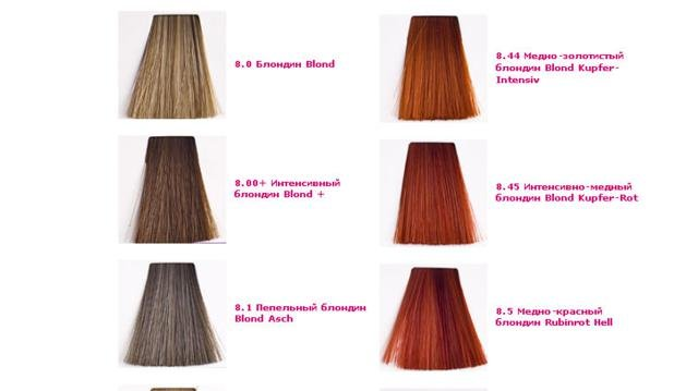 кеен краска для волос палитра