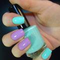 Маникюр мятно-розовый: идеи дизайна ногтей