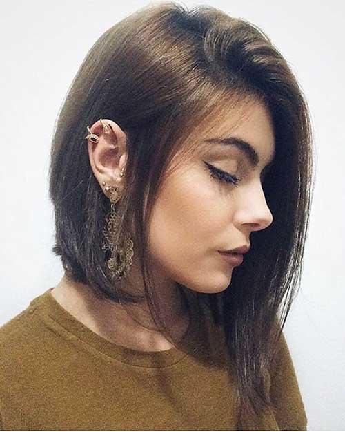 Асимметричный лоб