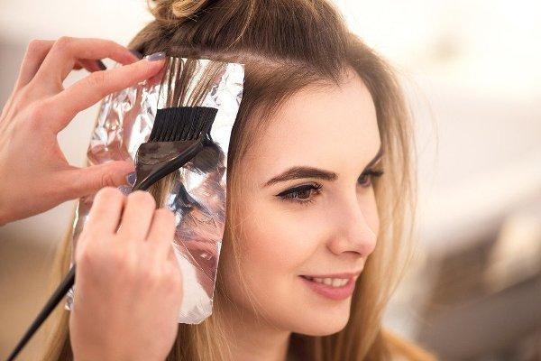 как просто покрасить кончики волос в домашних условиях