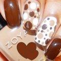 Дизайн ногтей коричневый: примеры сочетания оттенков, модные тенденции, фото