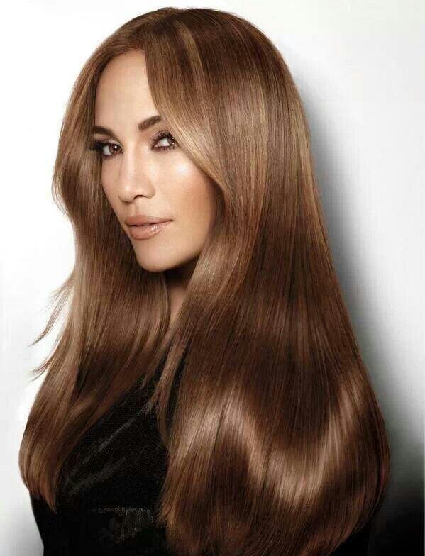 классический карамельный цвет волос