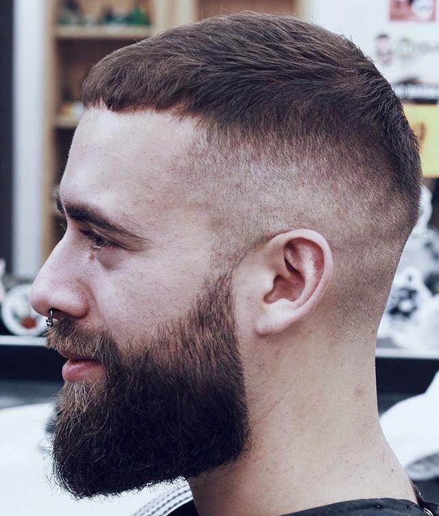 сочетание с бородой