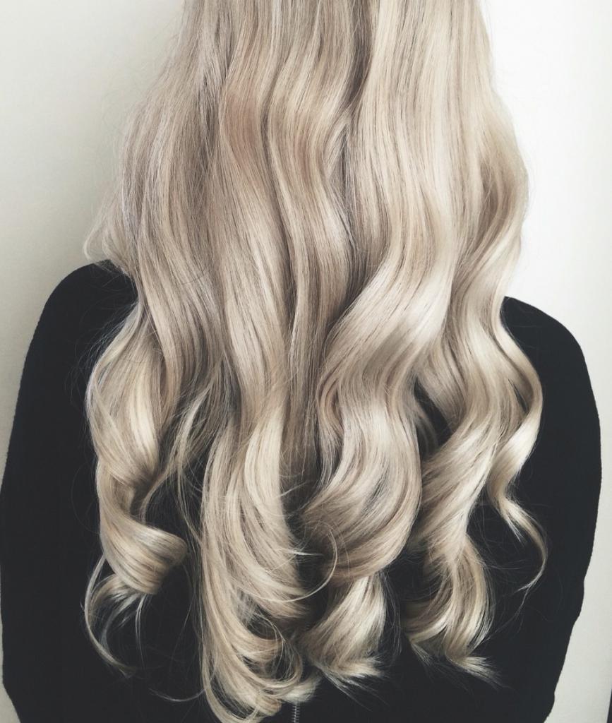 жемчужный блонд фото