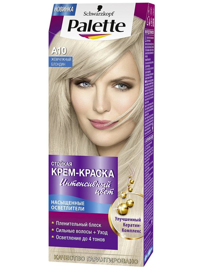 палетт жемчужный блонд