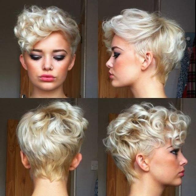Варианты химии на короткие волосы