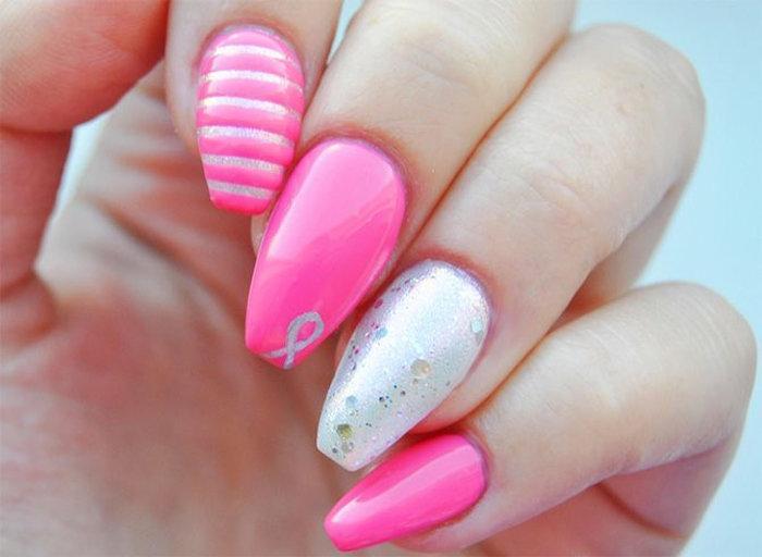 идеи ногти пуанты