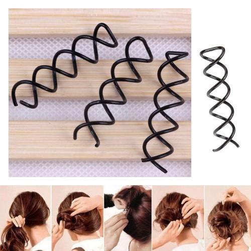 как сделать небрежный пучок на средние волосы