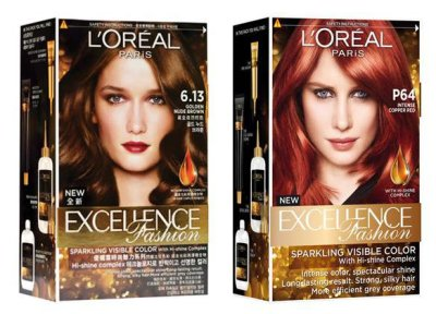 """Краска для волос """"Лореаль Экселанс"""": палитра цветов, отзывы"""