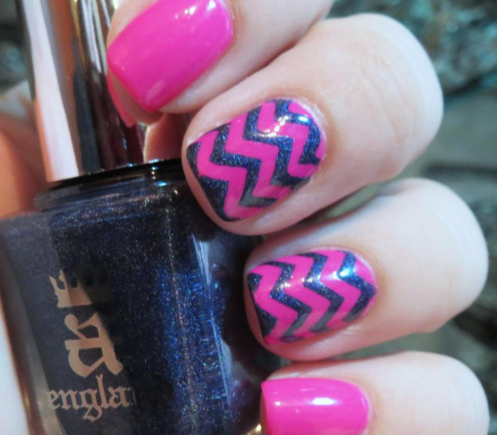 дизайн ногтей цвета фукции