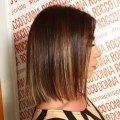 Окрашивание шатуш на короткие волосы: техника для темных и светлых волос