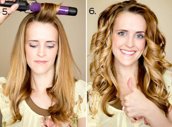 Как сделать объемную прическу на средние волосы