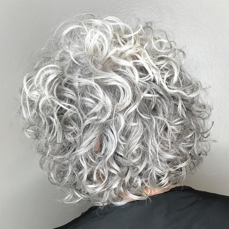 Химия волос прически