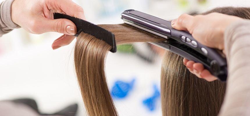 защита для волос от утюжка и фена