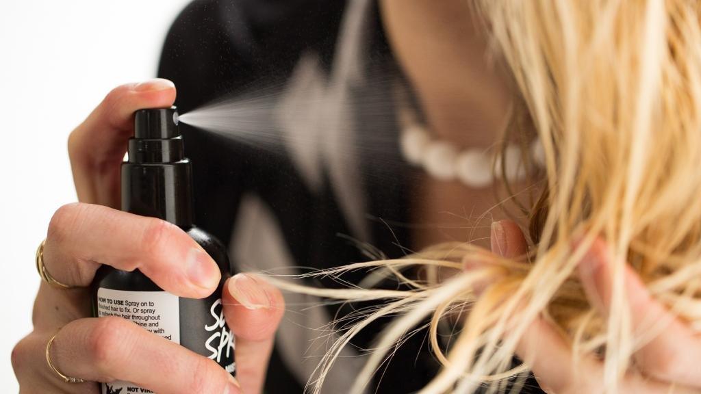 спрей для волос для утюжка