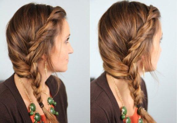легкие и красивые прически на средние волосы