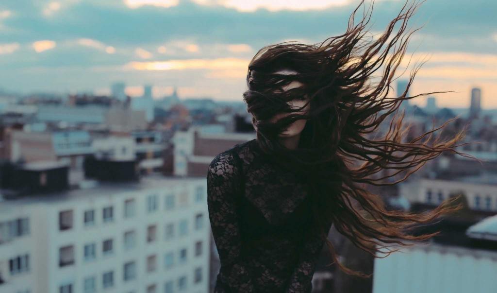 модный коричневый цвет волос без рыжины