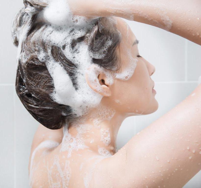 Очищение волос