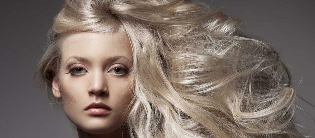 холодный бежевый блонд