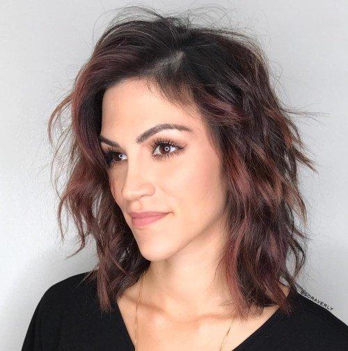 стрижки для тонких волос и узкого лица